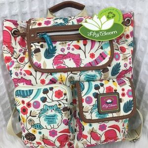 Lily Bloom Riley Cats Backpack